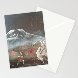 The Elk and Swan Stationery Cards