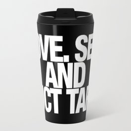 Love. Sex. And Duct Tape. Travel Mug