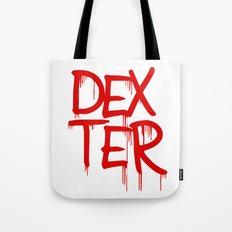word: Dexter Tote Bag