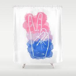 Bisexual Pride Shower Curtain