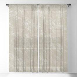 White gold velvet Sheer Curtain