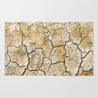 broken Area & Throw Rugs featuring Broken by Irène Sneddon