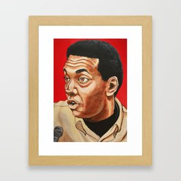 "Stokely Carmichael ""Revolutionary"" Framed Art Print"