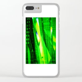 Abstract Perfection 37    City Jungle Clear iPhone Case