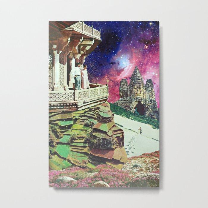 Metaphysical Collapse Metal Print