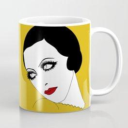 Glance (mustard yellow) Coffee Mug