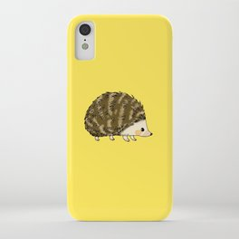 Adorable wild animal hedgehog iPhone Case