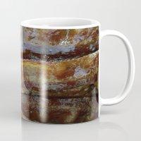 bacon Mugs featuring Bacon by John Grey