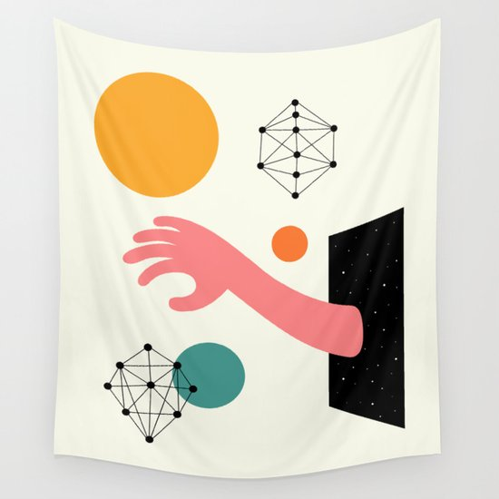 Searching Wall Tapestry