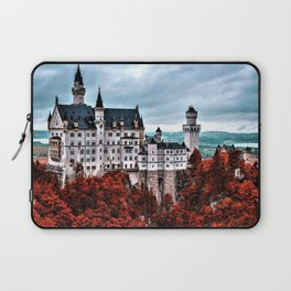 The Castle of Mad King Ludwig in the Autumn, Neuschwanstein Castle, Bavaria, Germany Laptop Sleeve