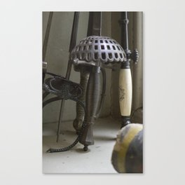 Old Swords and Fencing Canvas Print