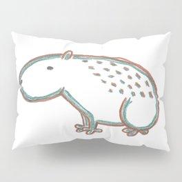 Capybara Pillow Sham