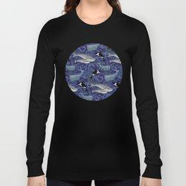 Beautiful Ocean Giants - purple Long Sleeve T-shirt