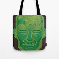 android Tote Bags featuring Android Dreams by Doodle Dojo