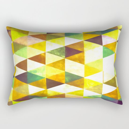 Abstract #428 Rectangular Pillow