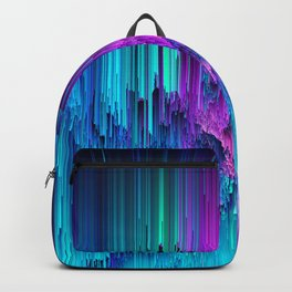 Neon Drifting - Pixel Art Backpack