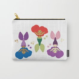 Three Little Mermaids Carry-All Pouch