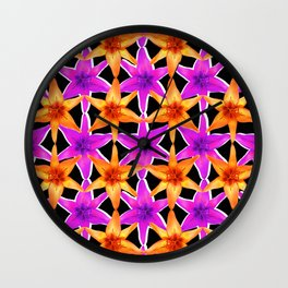 star star flo Wall Clock