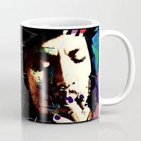 johnny depp Mugs featuring Johnny Depp by brett66