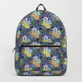 Fleurs à la folie Backpack