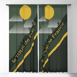 Le Tour de France Poster Blackout Curtain