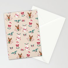 Christmas Puppets Stationery Cards