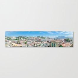 Naples Panorama, Italy Canvas Print