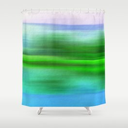 EARTH POEM Shower Curtain