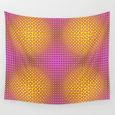 Vasarely style Wall Tapestry
