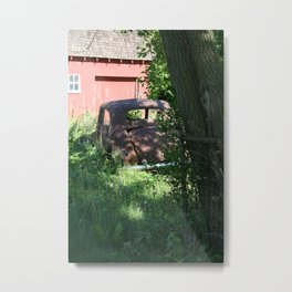 Neglected Metal Print