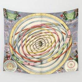 Harmonia Macrocosmica Planetary Orbits Wall Tapestry
