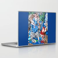 sam smith Laptop & iPad Skins featuring Blue Fairy, Sam Fan Art by Annette Jimerson