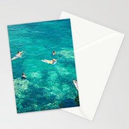 Sicily sea Stationery Cards