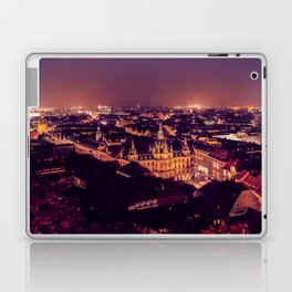 Night view of Graz city Laptop & iPad Skin