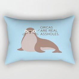Seal of Reproval Rectangular Pillow