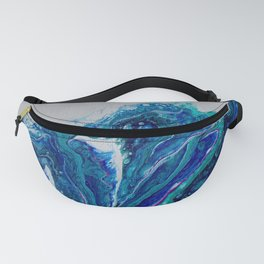 Blue Wave Fanny Pack