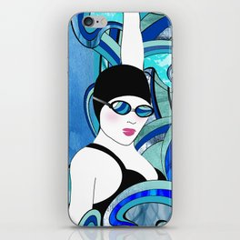Swimmer iPhone Skin