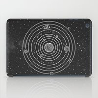 solar system iPad Cases featuring SOLAR SYSTEM by Mírë