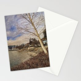 Lake Chelan morning Stationery Cards