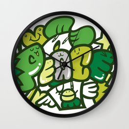 平和 - PEACE Wall Clock