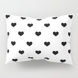Polka Dot Hearts Pillow Sham