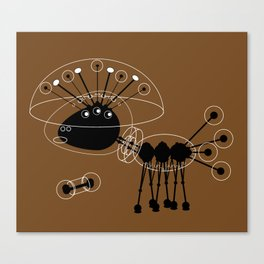 DBM ROBOT U1 SPACEDOG Canvas Print