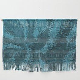 Ferns (light) abstract design Wall Hanging