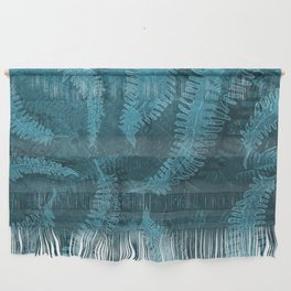 Ferns (light) abstract design Wall Hanging