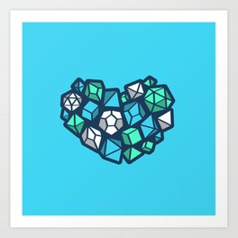 Heart of a Dungeon Master Art Print
