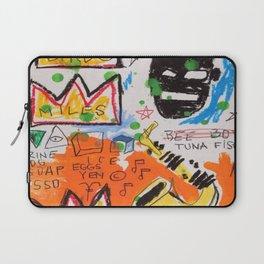 Basquiat king Laptop Sleeve