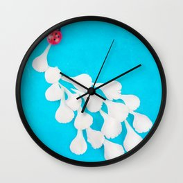 Ladybug Trail 2 Wall Clock