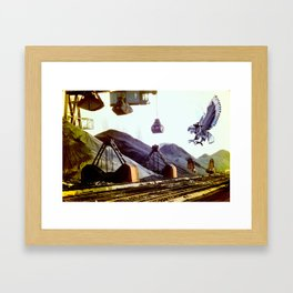 Ravage Framed Art Print