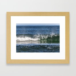 Beach Wave 0379 Framed Art Print