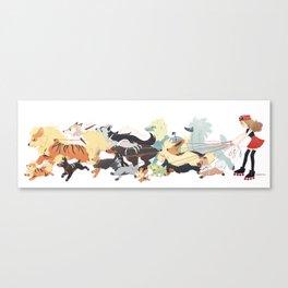 dogskates Canvas Print